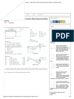 Soal Soal Analisis Struktur 1 ( Statis Tertentu, Beban Terpusat Dan Beban Merata) _ Sharing & Business