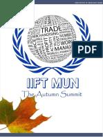 Iift Mun 2016 Brochure