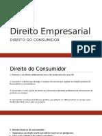 Direito Empresarial - Do Consumidor.pptx