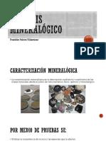 Análisis mineralógico
