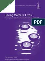Saving Mothers Lives 2003 2005 Full