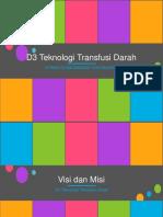 D3 Teknologi Transfusi Darah