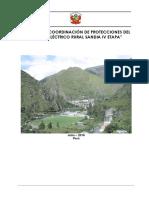 Estudio de coordinación de protecciones en distribución