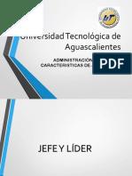6. JEFE Y LIDER