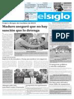 Edición Impresa El Siglo 26-09-17