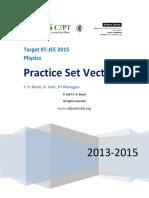 Vectors Practice Set