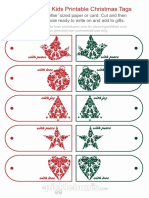 PWK Christmas in July Tags