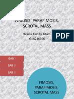 FIMOSIS, PARAFIMOSIS,