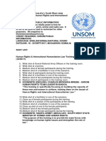 UN trains Somalia's South West state security forces on Human Rights and International Humanitarian Law
