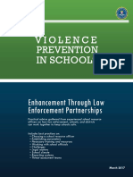 Violence Prevention in Schools March 2017