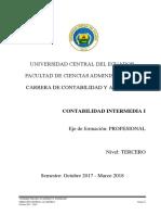 Sílabo de Contabilidad Intermedia I 1S1718