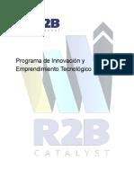[INN][doc] Programa de Innovación y Emprendimiento R2B