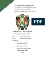 Códigos de ética en los Colegios Profesionales - Trabajo Final.docx