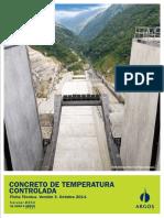 Ficha Técnica Concreto de Temperatura Controlada
