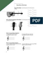 Guitar Basics Quiz
