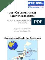 Gestión de Desastres Japón 2016