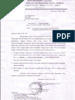 Edaran Kabid Penentuan Iddah