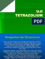 Uji Tetrazolium