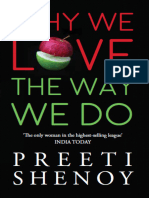 Why We Love the Way We Do - Preeti Shenoy
