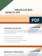 Sistem Drainase Rel Kereta API