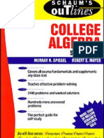 Schaum's College Algrebra -- 417