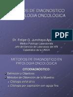 9. J. Metodos de Diagnosticos en patologia Oncológica.ppt
