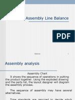 Ch-7 Assembly Line Balance