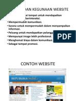 Fungsi Dan Kegunaan Website
