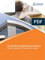 The Benefits of Polyurethane Insulation