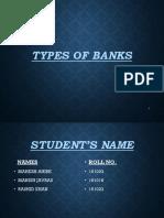 Types of Banks(1)Mahesh