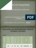 Recipientes a Presion Interna y Externa