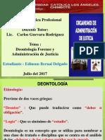 Exposicion Etica Profesional