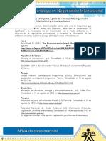 Evidencia 9 Temas Emergentes a Partir Del Contexto de La Negociacion Internacional y El Medio Ambiente