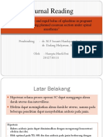 Comparing Slow and Rapid Bolus of Ephedrine (1)