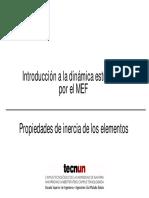 Introducción a La Dinámica Estructural x Mef