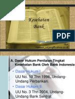 Mengukur Tingkat Kesehatan Bank