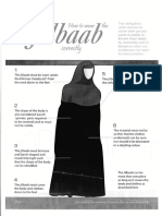 How to Waer the Jilbaab Correctly