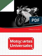 Catalogo motopartes universales 2013