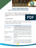 Act Complementarias u1 Solucionada