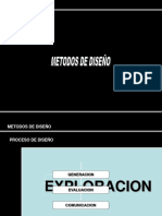 Métodos de Diseño de Productos (Ppt)