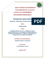 Caso Clínico de Pediatría Final