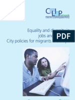 Equality and Diversity in Jobs and Services