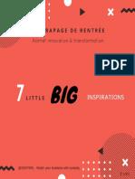 7 Little BIG Inspirations @IDKIPARL
