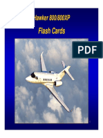 Hawker 800 800XP FlashCards