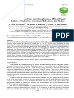 New Hexa Propylene Glycol Cyclotiphosphazene as Efficient Organic