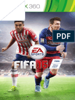 Fifa-16-Manual Microsoft Xbox 360 Mex