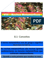 8 – Rochas Metamórficas
