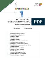 Matemáticas ejercicios 1