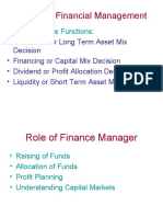 Nature of Financial Management