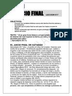17.-El Juicio Final